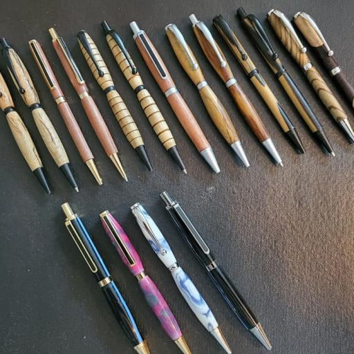 Custom Hand-turned Pens and Pencils
