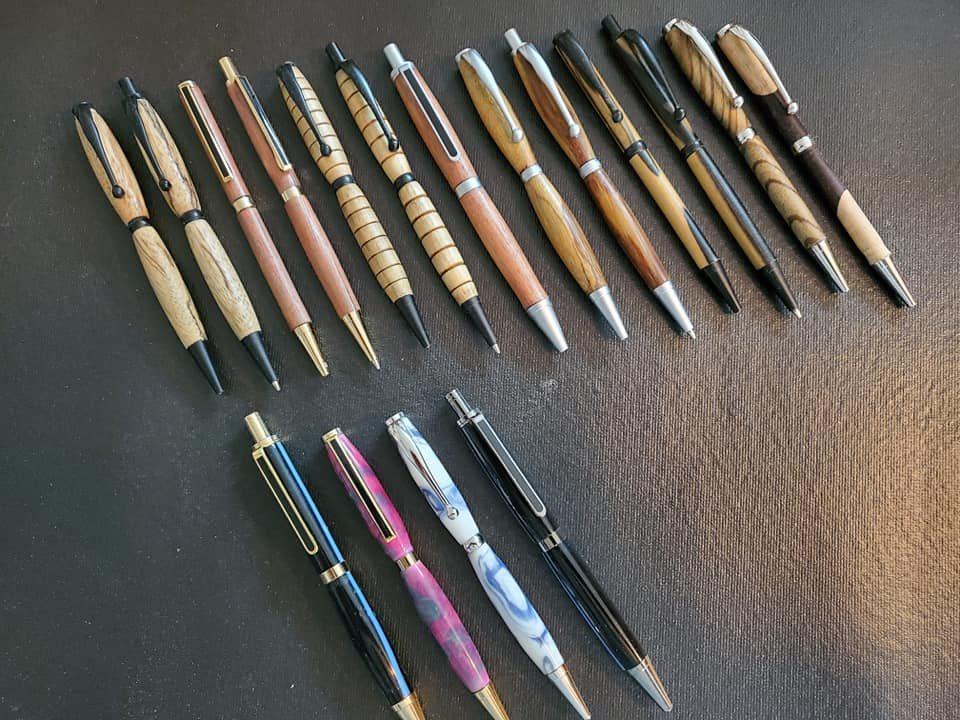 Custom turned pens